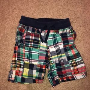 3T gap plaid shorts